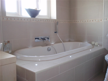 Recent bathroom Bury St Edmunds area; bathroom design and installation to customer's complete satisfaction