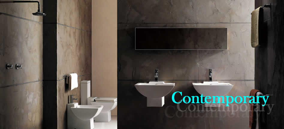 One of our contemporary bathrooms Bury St Edmunds,